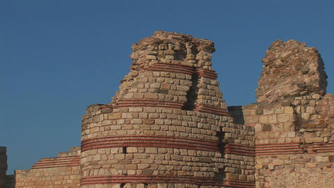 Nessebar tower Stock Video Footage