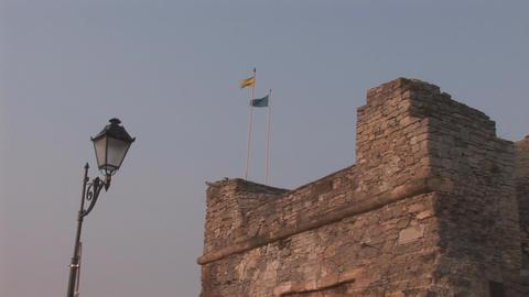 tower flag Footage