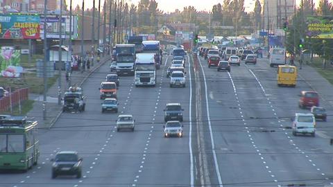 traffic 1 Stock Video Footage
