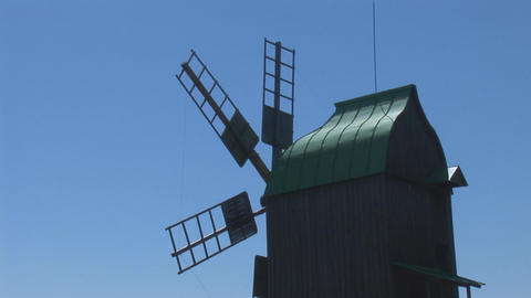 windmill 0 Stock Video Footage