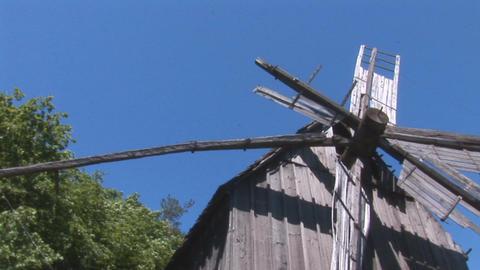 windmill 2 Stock Video Footage