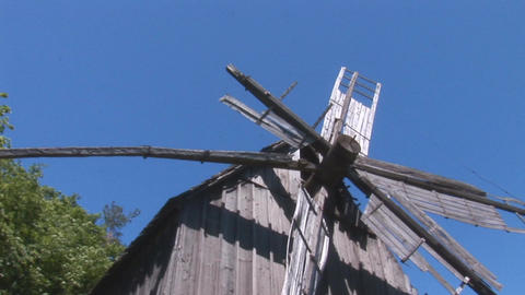 windmill 2 Stock Video Footage