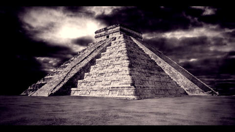 Mayan Temple 2 Stock Video Footage