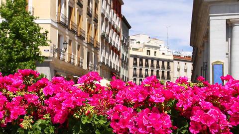 Mediterranean European City Scene 01 Footage