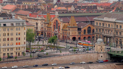 European City View 03 Stock Video Footage