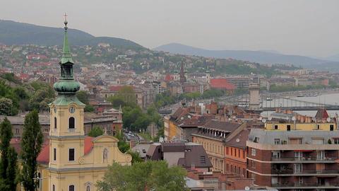 European City View 04 Stock Video Footage