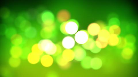 green bokeh loop Stock Video Footage