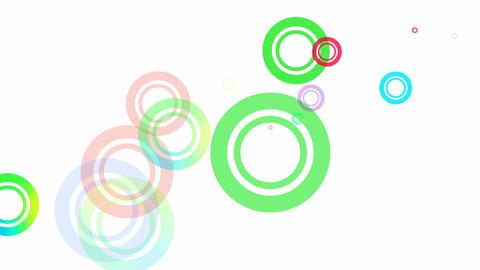 Random Circles Loop HD Stock Video Footage