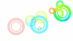 Random Circles Loop HD Animation