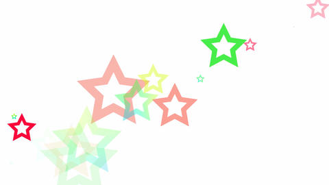 Randon Stars Loop HD Stock Video Footage