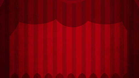 Theatre Curtains Green Screen HD Animation