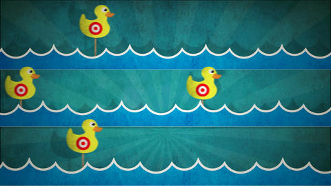Shooting Duck Gallery HD Animation