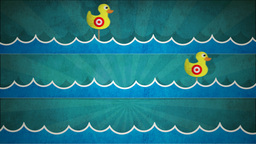 Shooting Duck Gallery HD Stock Video Footage