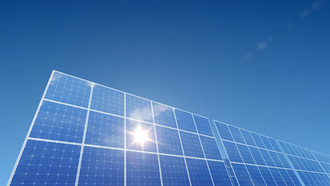 Solar Panel A1L HD Stock Video Footage