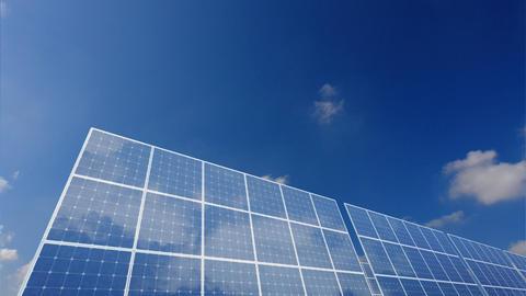Solar Panel B1C HD Animation