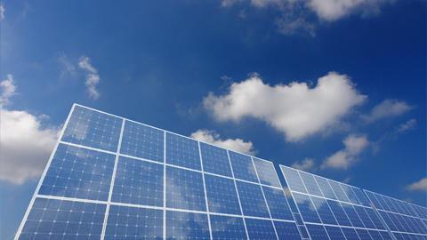 Solar Panel B1C HD Stock Video Footage