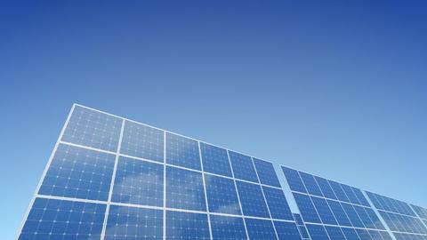 Solar Panel B1G1 HD Stock Video Footage