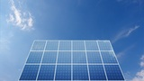Solar Panel C1C HD stock footage