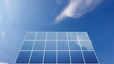 Solar Panel C1C HD Animation