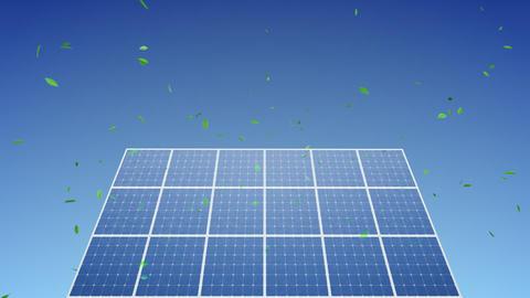 Solar Panel C1G HD Stock Video Footage