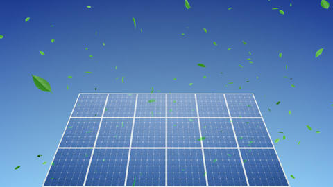 Solar Panel C1G HD Animation