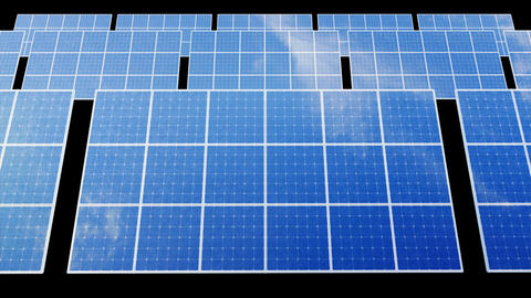 Solar Panel D1B HD Stock Video Footage
