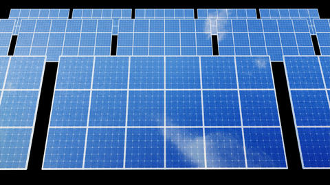 Solar Panel D1B HD Animation