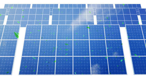 Solar Panel D1CG HD Stock Video Footage