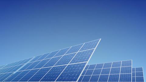 Solar Panel E1B HD Stock Video Footage
