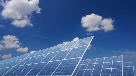 Solar Panel E1C HD Animation