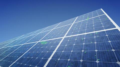 Solar Panel F1G HD Stock Video Footage
