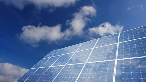 Solar Panel G1C HD Stock Video Footage