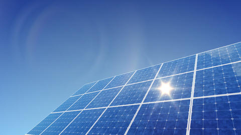 Solar Panel G1L HD Stock Video Footage