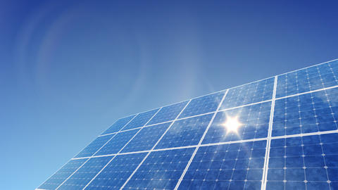 Solar Panel G1L HD Stock Video Footage
