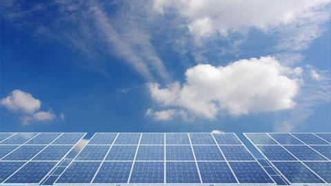 Solar Panel H1C HD Animation