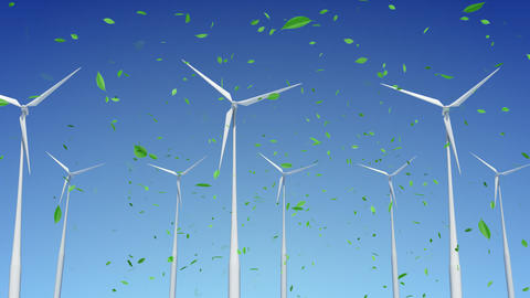 Wind Turbine A1WG HD Animation