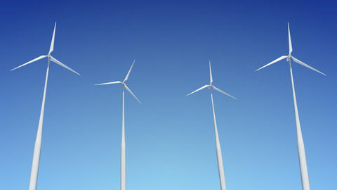 Wind Turbine C1W HD Stock Video Footage