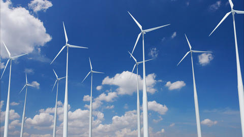 Wind Turbine E1CW HD Stock Video Footage