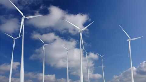 Wind Turbine G1CW HD Animation