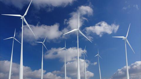 Wind Turbine G1CW HD Stock Video Footage
