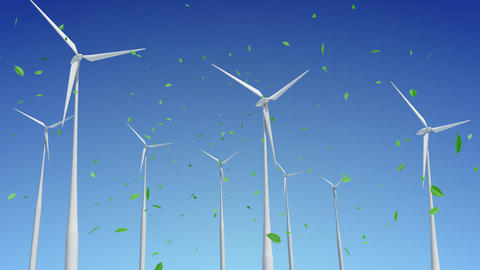 Wind Turbine G1WG HD Animation