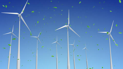 Wind Turbine G1WG HD Stock Video Footage