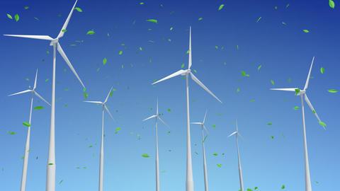 Wind Turbine G1WG HD Stock Video Footage