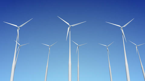 Wind Turbine H1W HD Animation