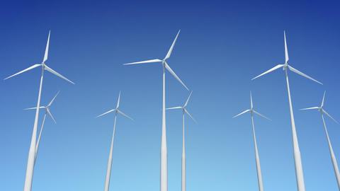 Wind Turbine H1W HD Stock Video Footage