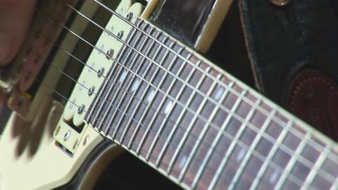 guitare 11 Stock Video Footage