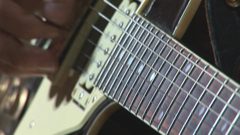 guitare 11 Stock Video Footage