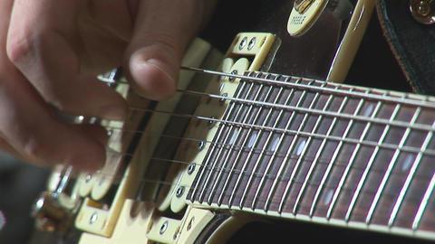 guitare 13 Stock Video Footage