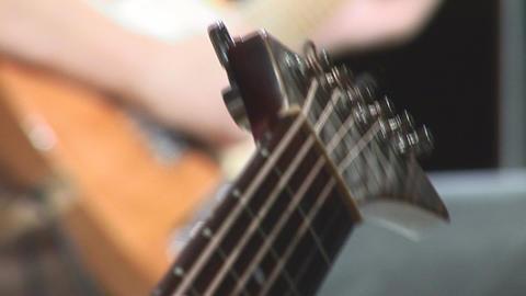 guitare 17 Stock Video Footage