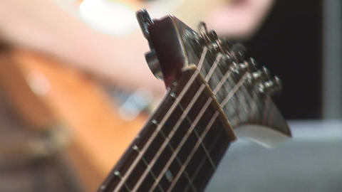 guitare 17 Stock Video Footage